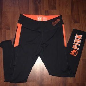 VS PINK Orioles leggings